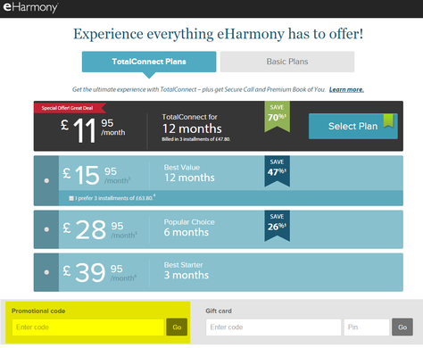 how to stop eharmony payments